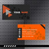 Business card modern design