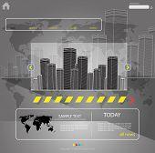 web template city vector, more visit my portfolio