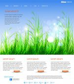 Web page layout design