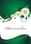 Green Invitation Card