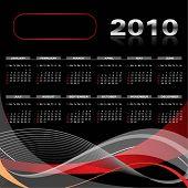 Elegant Calendar 2010