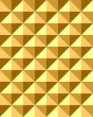 Seamless relief pyramid pattern. Vector illustration.