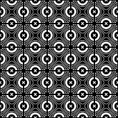 Seamless checked crisscross pattern. Vector illustration.