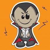 Cute Halloween character - Dracula