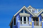 Blue Coastal Home