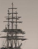 Vintage Clipper Ship