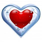 Herzen n4. Eis Auftauen