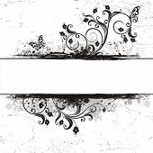 Decorative vector background in style VINTAGE