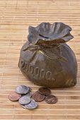 Old Piggy Bank Or Money-Box Vertical