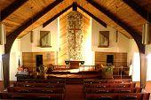 Inside A Church.