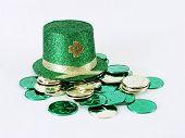 Irish Hat With Coins