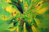 Kopie 2 Van Oilpainting Green Yellow And Red
