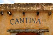 Cantina In The Old West