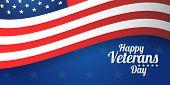 Background Banner For Veterans Day, Usa Celebration. Vector Design Happy Veterans Day poster