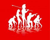 evolutie oorlog