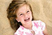Spontaneous Laughing Girl