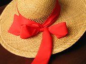 Straw Hat (detail)