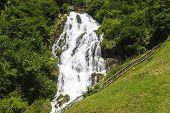 Waterfall Near Stenico (trento)