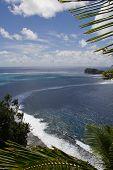 Paisagem de Samoa