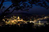 Budapest At Nightfall