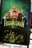 LOS ANGELES - AUG 5:  Poster for ParaNorman at the
