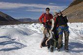 Friends On The Cerro Torre Glacier