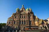 ST.PETERSBURG, RUSSIA - MAY 21: Church of Savior on Spilled Blood in May 21, 2012 in St.Petersburg,