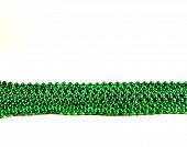 Line Of Green Beads