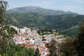 White village, Benadalid, Andalusia.