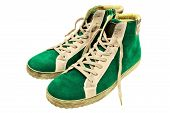 Green Suede Gumshoes poster