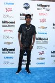 LOS ANGELES -  MAY 19:  Wiz Khalifa arrives at the Billboard Music Awards 2013 at the MGM Grand Gard