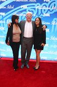 LOS ANGELES - MAY 16:  Stella Arroyave, Anthony Hopkins, Niece arrive at the American Idol Season 12