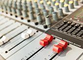 Music Recording Powered  Mixer