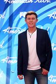 LOS ANGELES - MAY 16:  Scotty McCreery arrives at the American Idol Season 12 Finale at the Nokia Th