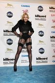 LOS ANGELES -  MAY 19:  Madonna in the press room at the Billboard Music Awards 2013 at the MGM Gran