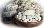Spa. Masaje con piedras