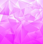Light Pink Background, Beautiful Mosaic