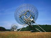Radio Telescope At Westerbork The Netherlands