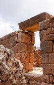 Puca Pucara Military Ruins At Cusco, Peru