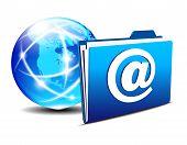 Email Folder and Communication Internet World America
