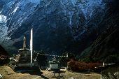 Thyangboche Monastery And Peak Of Ama Dablam