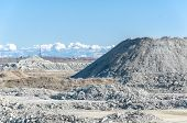 pic of polution  - Empty stone pit - JPG