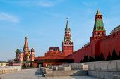 stock photo of mausoleum  - Red Square Moscow - JPG
