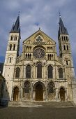 Stockphoto Of Gothic Church In Reims
