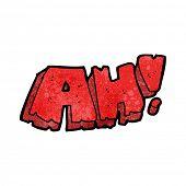cartoon comic book ah! scream
