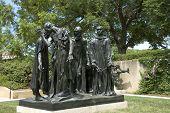 Burgueses de Calais por Rodin