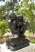 Mulher agachada por Rodin