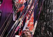 Japanese Archers Festival