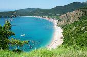 Jaz is a beach in the Budva Municipality in Montenegro