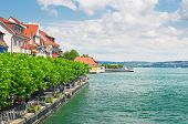 Scenic Waterfront Of Lake Constance, Germany